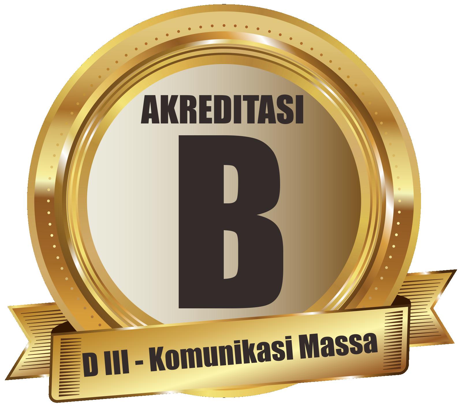 program studi komunikasi massa terakreditasi B