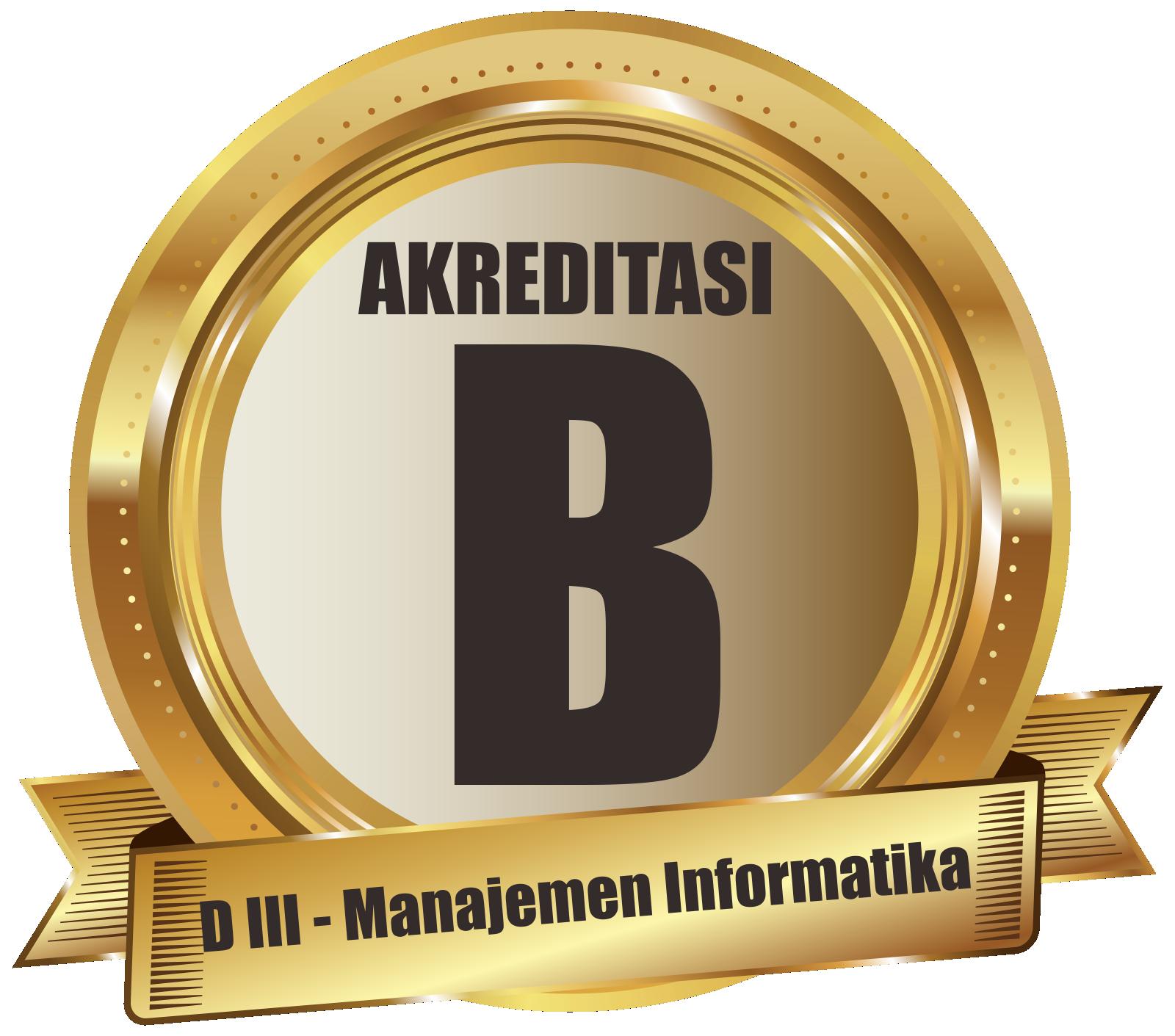 program studi manajemen informatika terakreditasi B